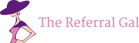 The Referral Gal header logo